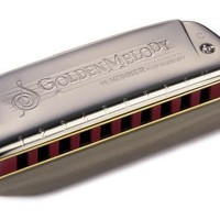 Hohner Golden Melody Harmonica, C