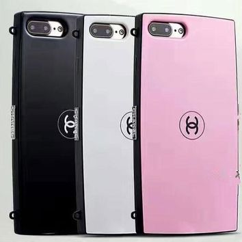 CHANEL phone case shell  for iphone 6/6s,iphone 6p/6splus,iphone 7/8,iphone 7p/8plus, iphonex