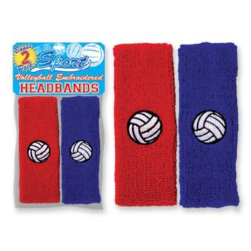 Vollyball Pride 2 Pack Headbands - CASE OF 72