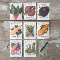 Heritage Vegetable Seed Collection