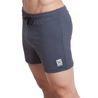 Eros Sport Core Energy Shorts are best men's bikram yoga shorts and hot yoga shorts. Eros Core Energy Shorts have a looser fit for comfortable workouts. Eros Core Energy Shorts are best pilates and yoga clothing for men.
