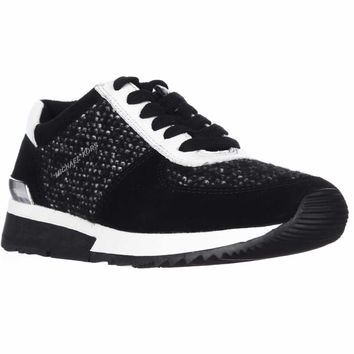 MICHAEL Michael Kors Allie Trainer Sneaker - Black/White
