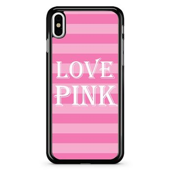 Victoria Secret Love Pink iPhone X Case