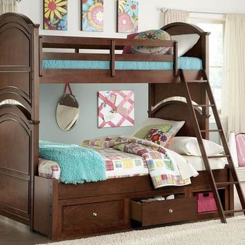 2880 Impressions - Complete Twin Over Full Bunk Bed Underbed Storage Drawer - Full