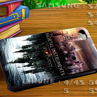 Mortal Instruments City For iphone 4 iphone 5 samsung galaxy s4 / s3 / s2 Case Or Cover Phone.