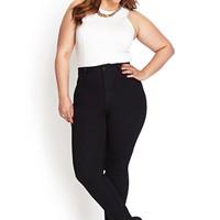 FOREVER 21 PLUS Classic Skinny Jeans