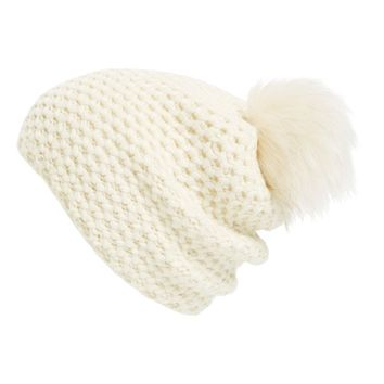 Phase 3 Faux Fur Pompom Beanie | Nordstrom