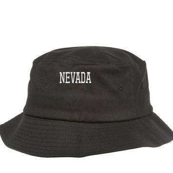 NEVADA EMBROIDERY Bucket Hat