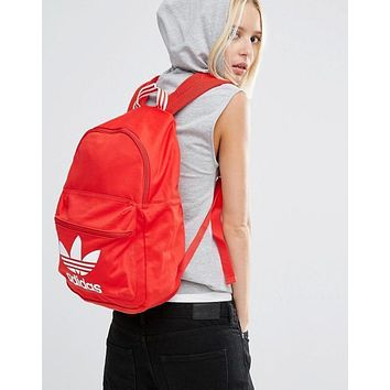 adidas Originals Logo Red Backpack