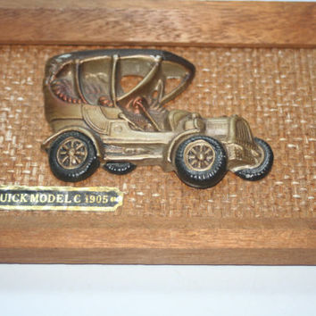 Vintage 1905 Buick Model C Wall Hanging