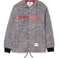 Supremebeing Coach Jacket with Cell Print