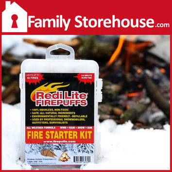 Firepuff's Complete Fire Starter Kit by RediLite