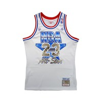 Special Edition Michael Jordan 1991 NBA All Star Game Jersey Python Skin
