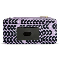 Women's Slim Fit Credt Card Holder Wallet - Purple : Target