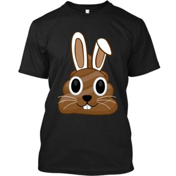Easter Bunny Poop Emojis Shirt Gift Custom Ultra Cotton