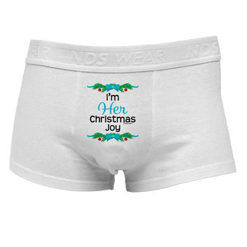 Her Christmas Joy Matching His & Hers Mens Cotton Trunk Underwear