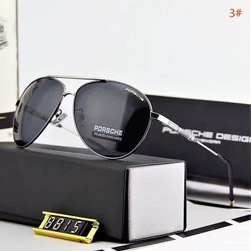 Porsche Fashion New Polarized Women Men Business Casual Sunscreen Eyeglasses Glasses