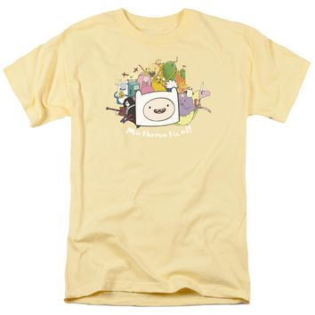 Adventure Time - Mathematical Short Sleeve Adult 18/1 Shirt Officially Licensed T-Shirt