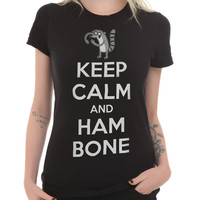 Regular Show Keep Calm And Hambone Girls T-Shirt