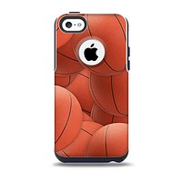 The Basketball Overlay Skin for the iPhone 5c OtterBox Commuter Case