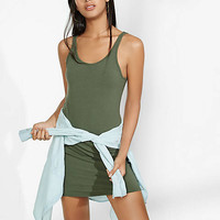 Scoop Neck Mini Tank Dress from EXPRESS