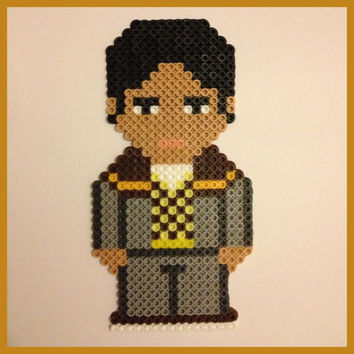 Big Bang Theory Raj Perler Wall Art or Magnet