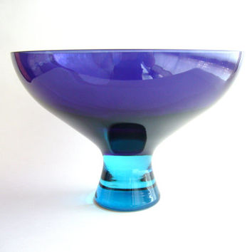 Modernist Murano Glass Compote
