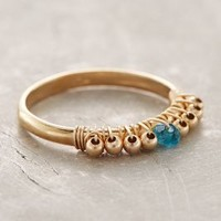 Birthstone Stacking Ring by Anthropologie