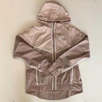 KUYOU Nike Womens windrunner Blush pink 883495-684