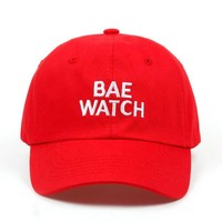 """BAE WATCH"" dad hat"