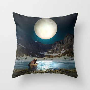 Somewhere You Are Looking At It Too II Throw Pillow by Soaring Anchor Designs   Society6