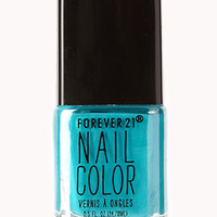 FOREVER 21 Tamed Turquoise Nail Polish Turquoise One