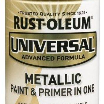 Rust-Oleum® 249132 Universal® Metallic Spray Paint, 12 Oz, Aged Copper Metallic