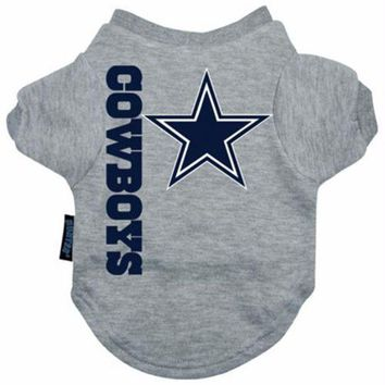 DCCKOP9 Dallas Cowboys Dog Tee Shirt