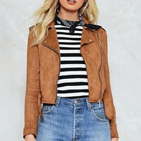 Per-Suede You Moto Jacket