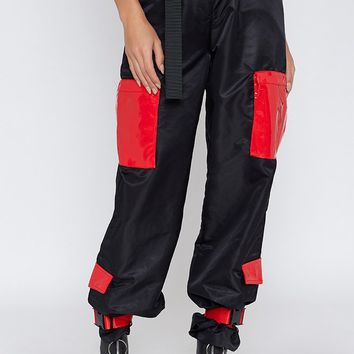 I.AM.GIA Imperator Pants Black And Red