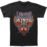 Lynyrd Skynyrd Men's  Eagle With Guitars T-shirt Black