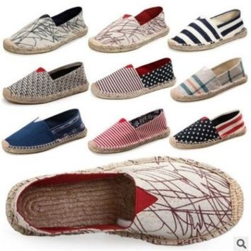 ESBONQK AUTHENTIC WOMEN'S TOMS CLASSIC CANVAS SHOES 35-45