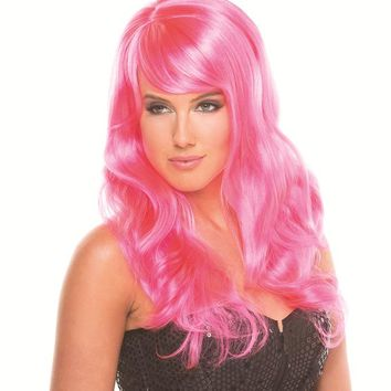 Bewicked Female Solid Color Burlesque Wig BW095HP
