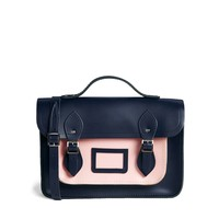 "Cambridge Satchel Company 13"" Two Tone Satchel"