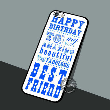 My Bestie Letter Gift - iPhone 7 6 5 SE Cases & Covers