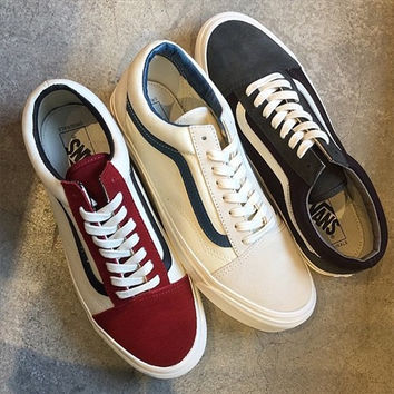Trendsetter VANS Classic Canvas Old Skool Flats Sneakers Sport Shoes