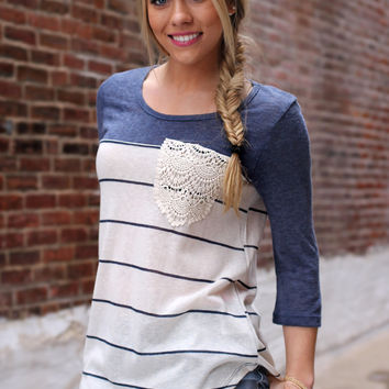 Comfy In Crochet Top