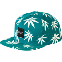 Huf Glow In The Dark Plantlife Snapback Hat