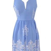 Cheapside Dress - Blue