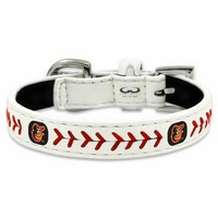 Gamewear Baltimore Orioles XSmall Classic Leather Baseball Dog Collar