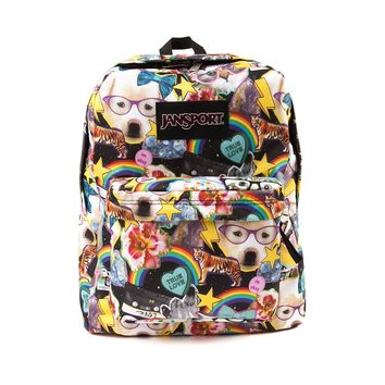 JanSport Superbreak Hair Ball Backpack
