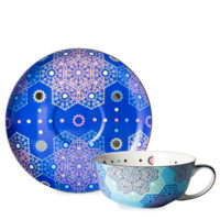 Moroccan Tealeidoscope Iced Pale Blue Cup & Saucer Small - T2 EU | T2 Tea GB