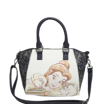 Disney Beauty And The Beast Belle Mrs. Potts & Chip Satchel Bag