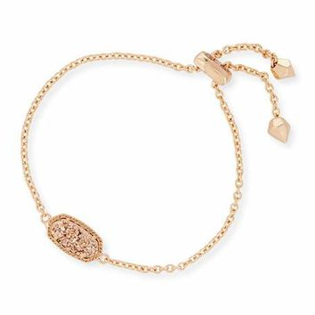 Kendra Scott Elaina Statement Bracelet in Rose Gold Plate